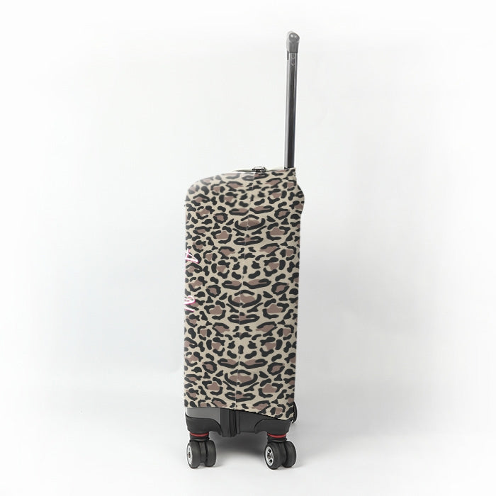 ClaireaBella Leopard Print Suitcase Cover - Image 2