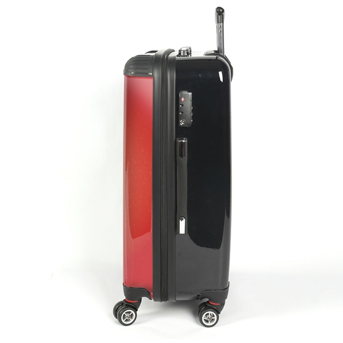 Johnny Bravo Guys Distressed Red Suitcase - Image 2