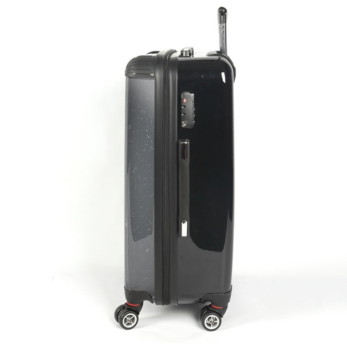 Johnny Bravo Guys Distressed Grey Suitcase - Image 2