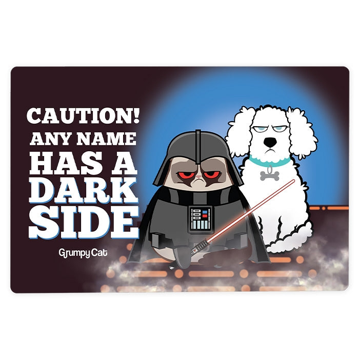 Grumpy Cat Dark Side House Sign - Image 3