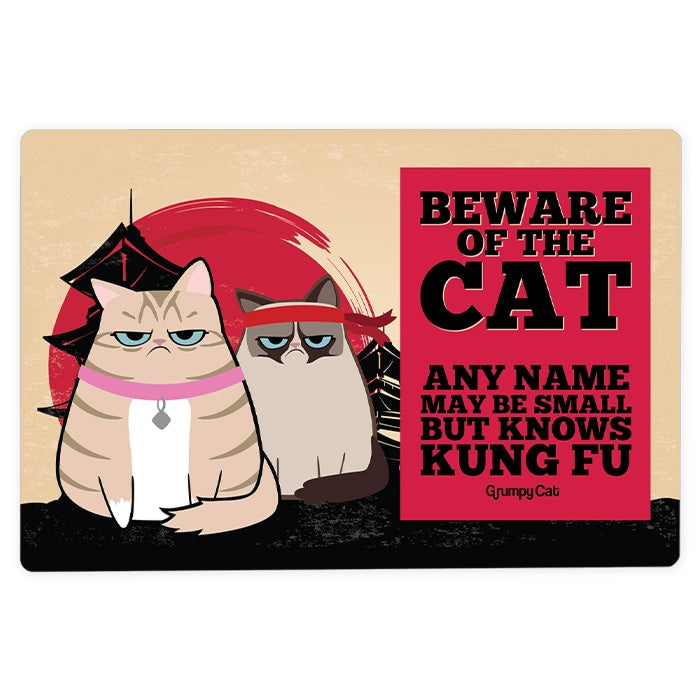 Grumpy Cat Kung Fu House Sign - Image 3