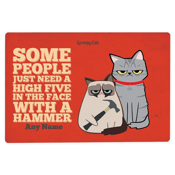 Grumpy Cat High Five House Sign - Image 2
