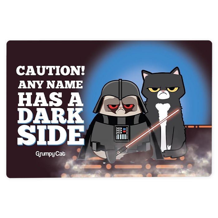 Grumpy Cat Dark Side House Sign - Image 2