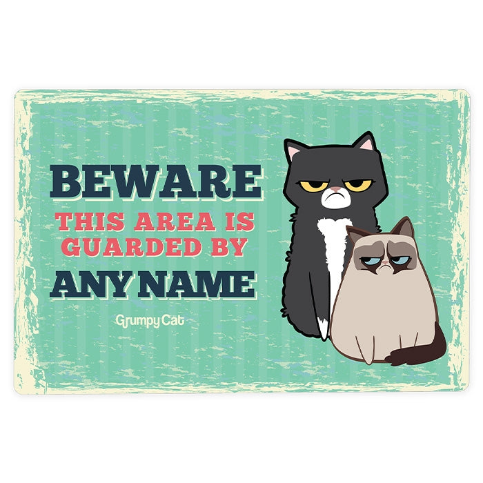 Grumpy Cat Beware House Sign - Image 2