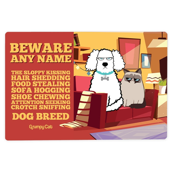 Grumpy Cat Attention House Sign - Image 1