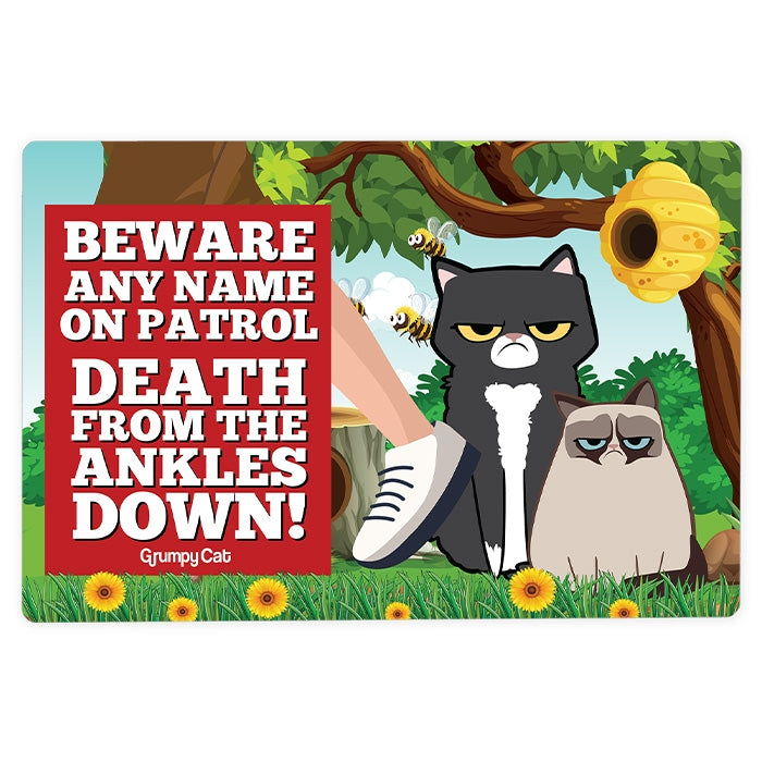 Grumpy Cat Ankles House Sign - Image 2