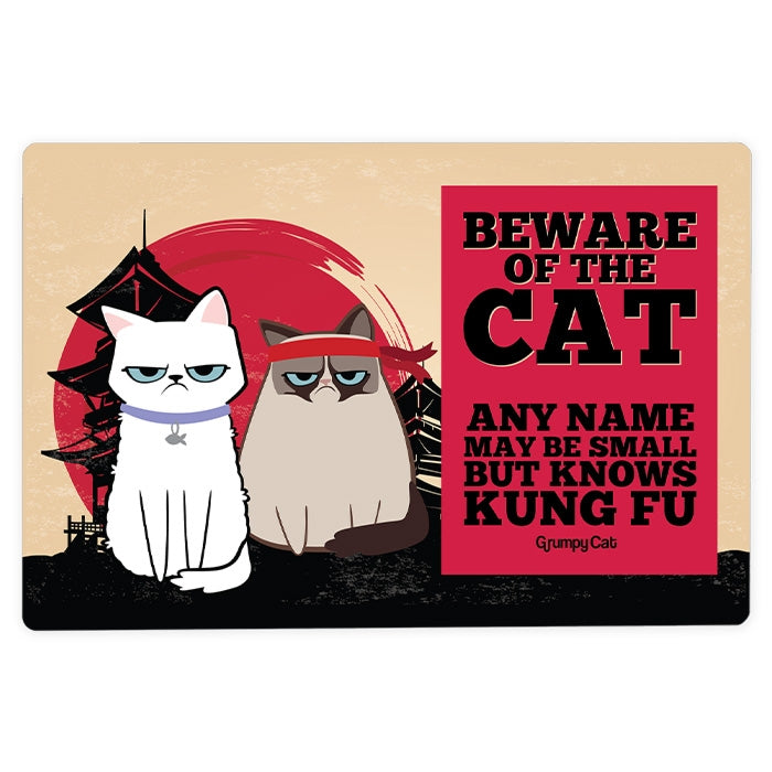 Grumpy Cat Kung Fu House Sign - Image 2