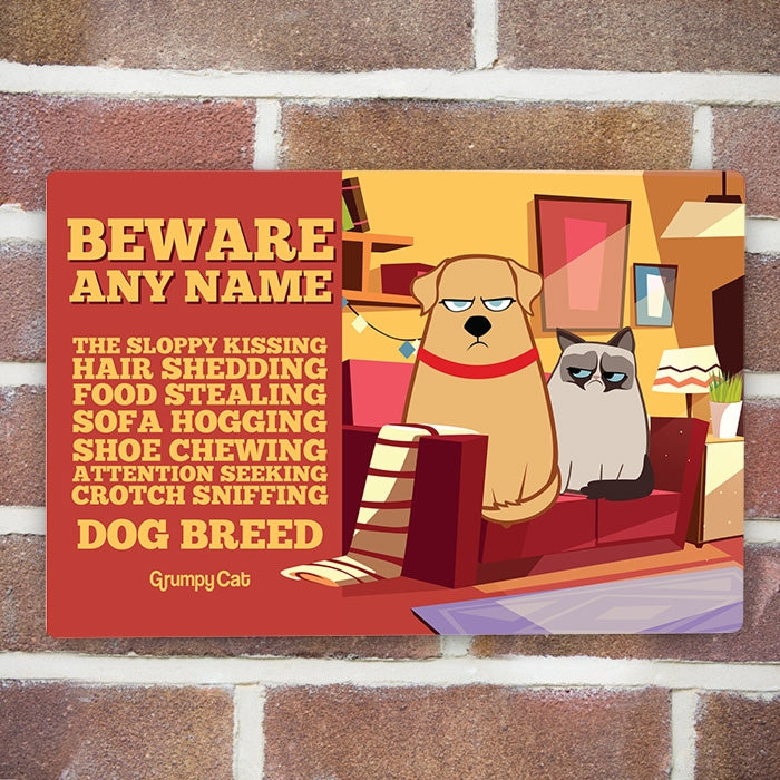 Grumpy Cat Attention House Sign - Image 3