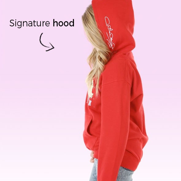 ClaireaBella Girls Christmas Hoodie - Image 4