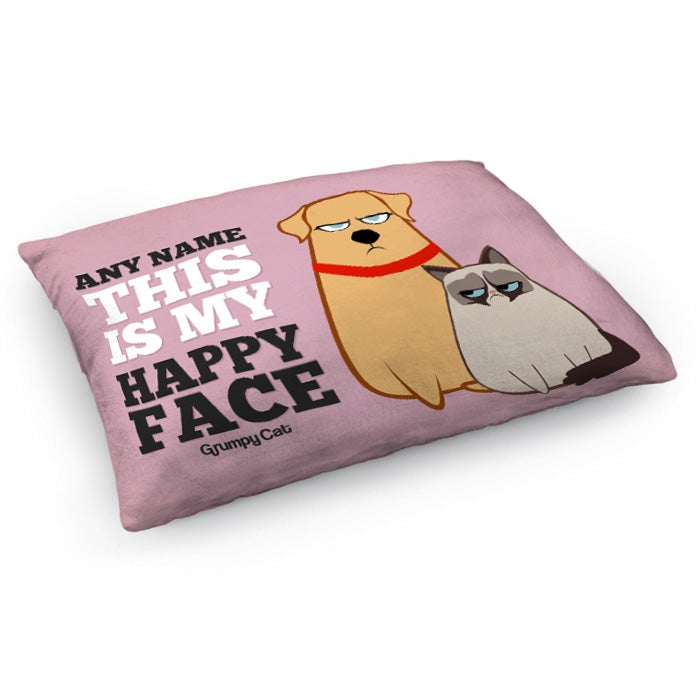 Grumpy Cat Happy Face Pet Bed - Image 3