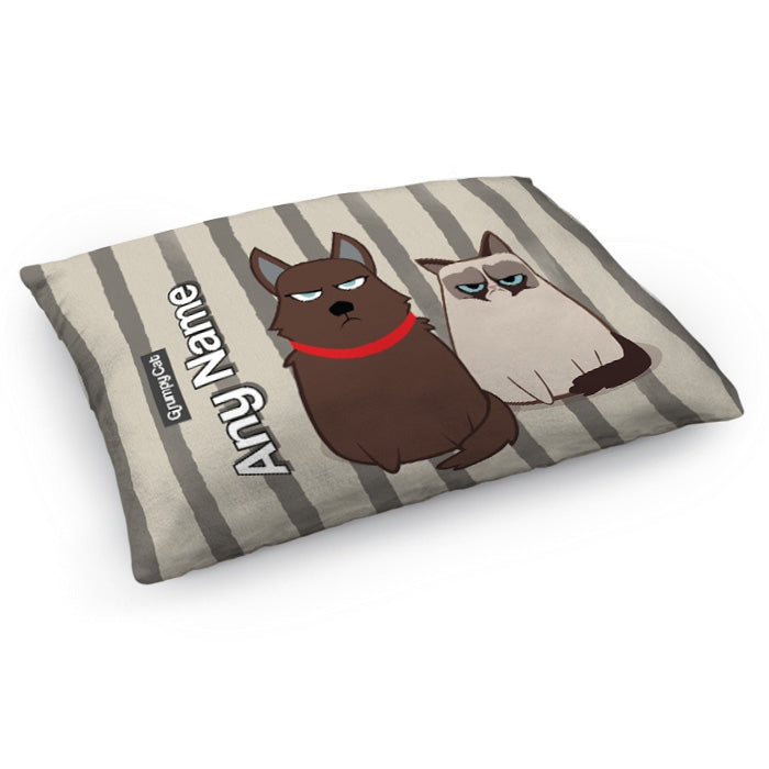 Grumpy Cat Stripe Pet Bed - Image 4