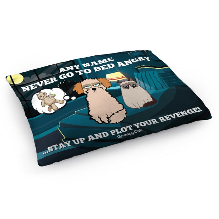 Grumpy Cat Never Sleep Pet Bed - Image 3