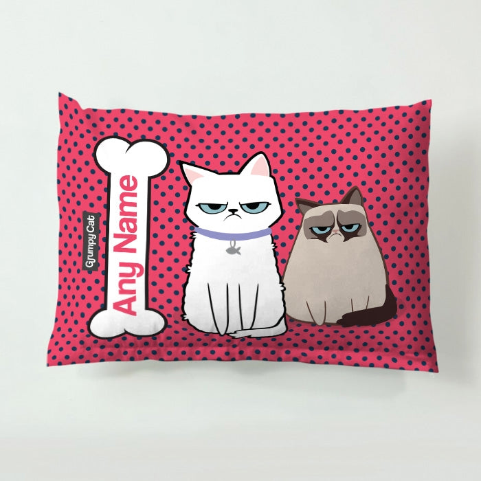 Grumpy Cat Polka Dot Pet Bed - Image 3