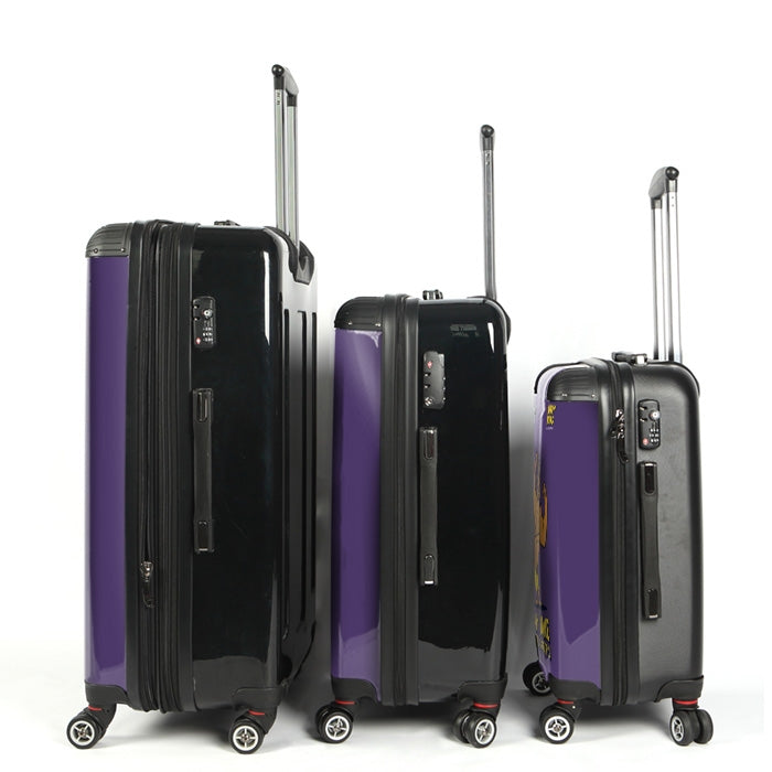 Johnny Bravo Guys Bold Purple Suitcase - Image 3