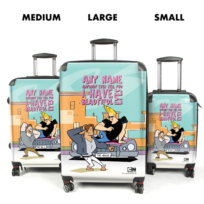Johnny Bravo Guys Eyes For You Suitcase - Image 4