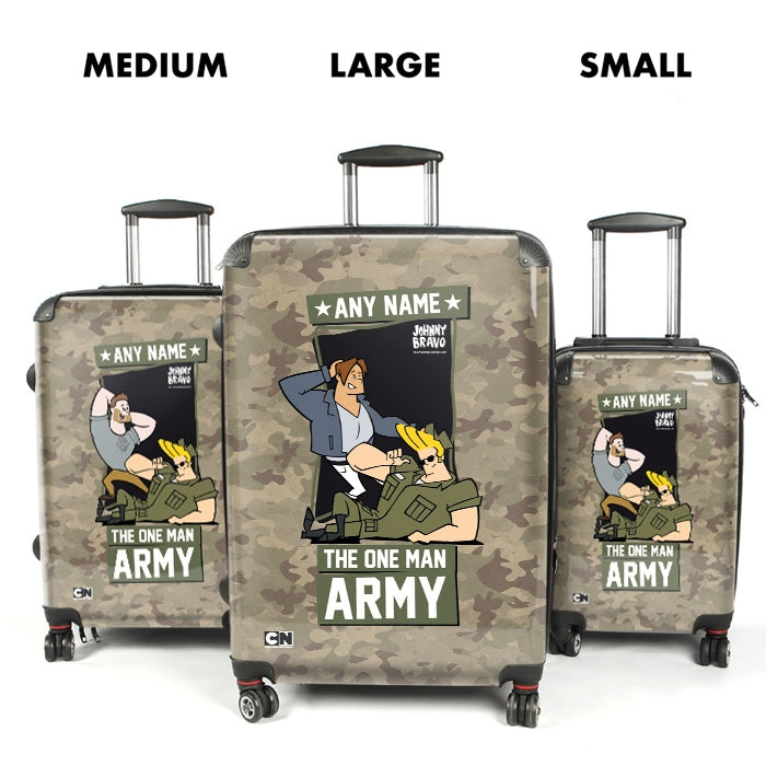 Johnny Bravo Guys Army Suitcase - Image 4