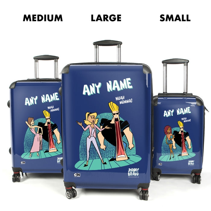 Johnny Bravo Ladies Woah Mamma Suitcase - Image 4