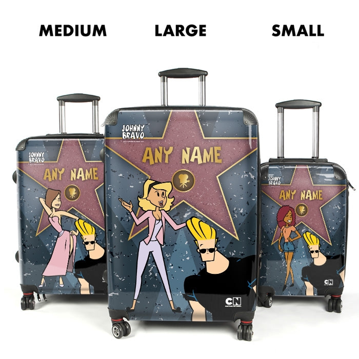 Johnny Bravo Ladies Walk Of Fame Suitcase - Image 4