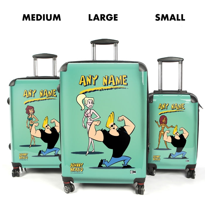 Johnny Bravo Ladies Mint Suitcase - Image 4