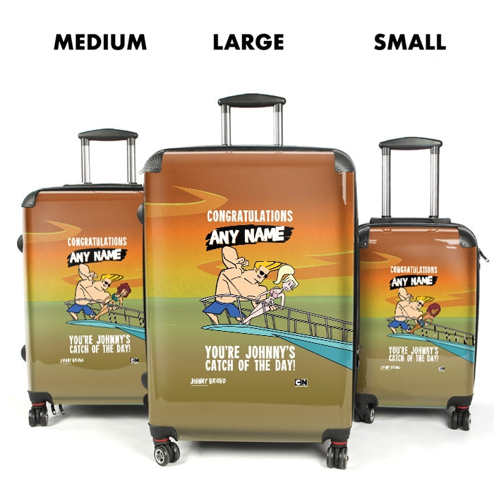 Johnny Bravo Ladies Catch Of The Day Suitcase - Image 4