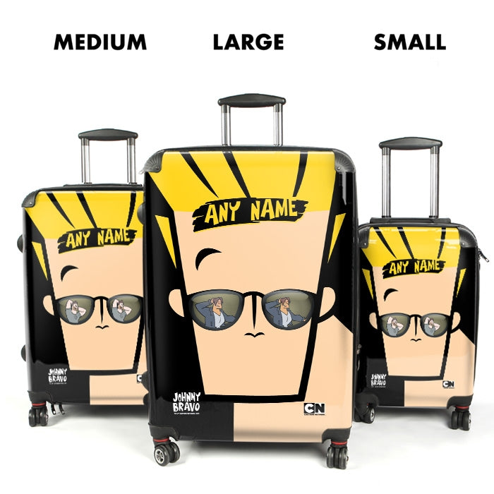 Johnny Bravo Guys Close Up Suitcase - Image 4