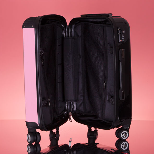 ClaireaBella Pastel Pink Suitcase - Image 8