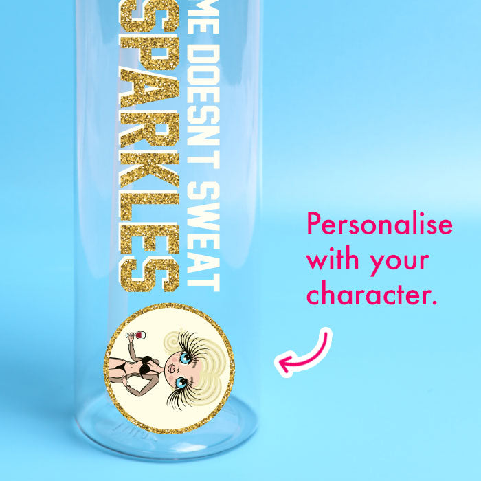 ClaireaBella Sparkles Water Bottle