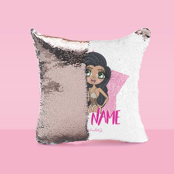 ClaireaBella Shining Star Sequin Cushion - Image 3