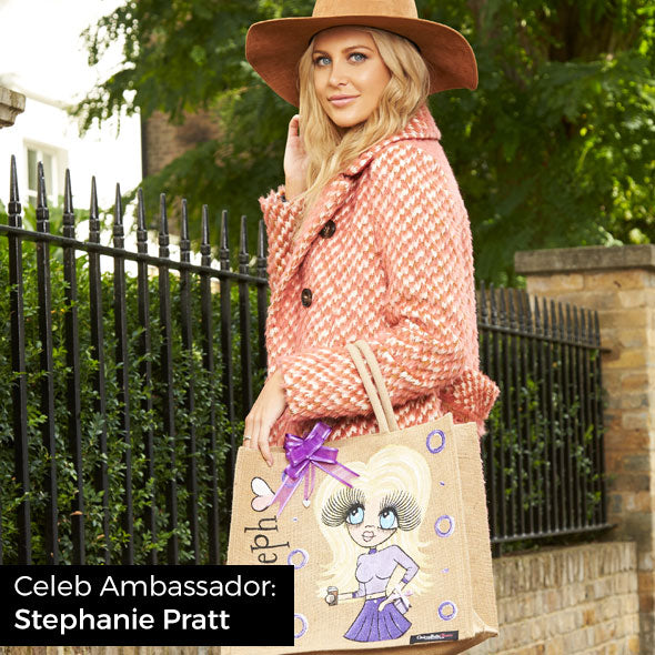 ClaireaBella Colour Crush Jute Bag - Image 8
