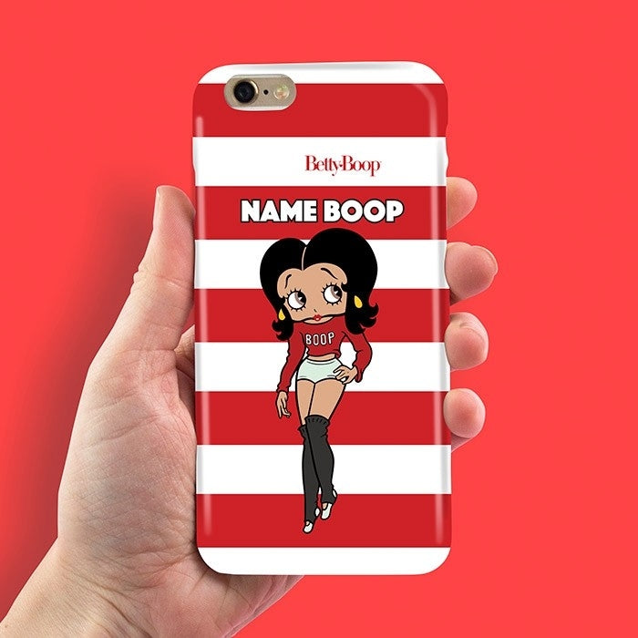 Betty Boop Candy Stripe Phone Case - Image 2