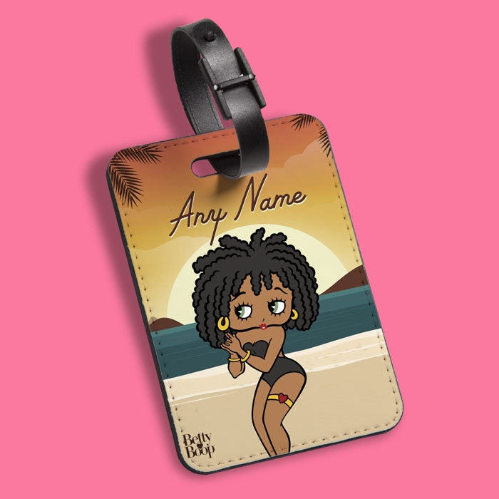 Betty Boop Sunset Luggage Tag - Image 2