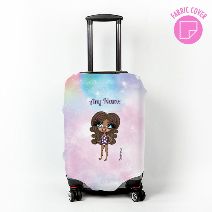 ClaireaBella Girls Unicorn Colours Suitcase Cover
