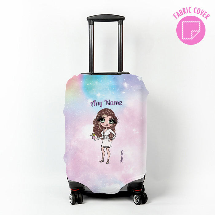ClaireaBella Unicorn Colours Suitcase Cover