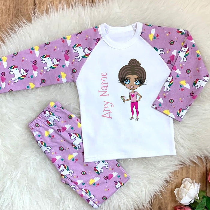 ClaireaBella Girls Classic Pyjamas - Image 1