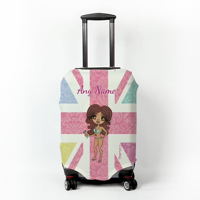 ClaireaBella Union Jack Suitcase Cover - Image 1