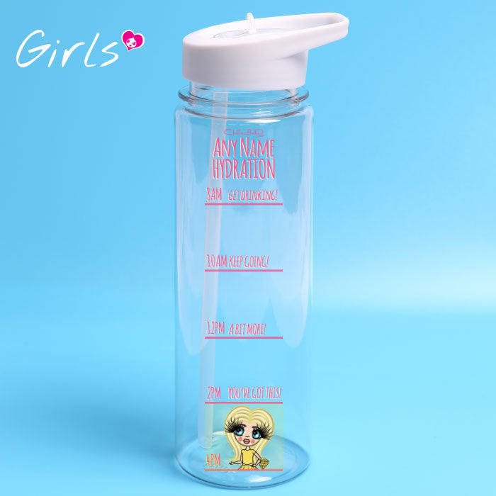 ClaireaBella Girls Hydrate Water Bottle