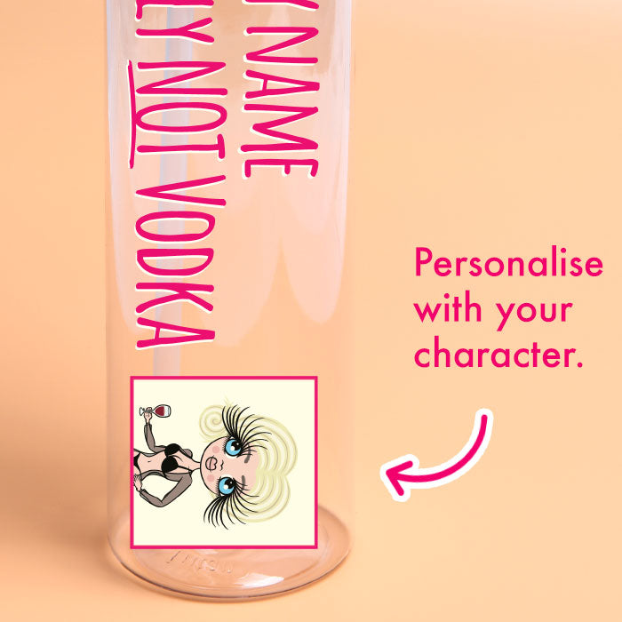 ClaireaBella Vodka Water Bottle