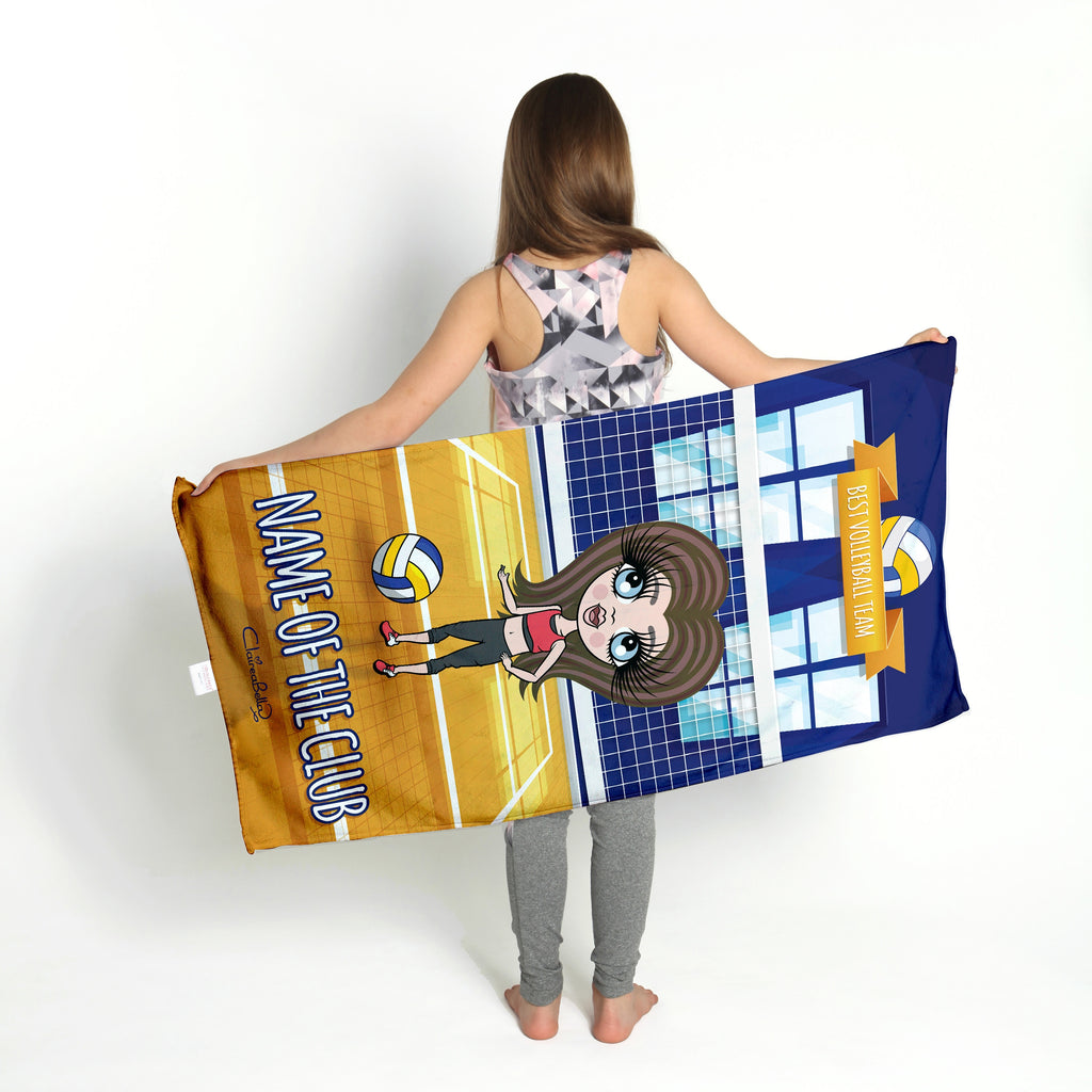 ClaireaBella Girls Volleyball Gym Towel - Image 3