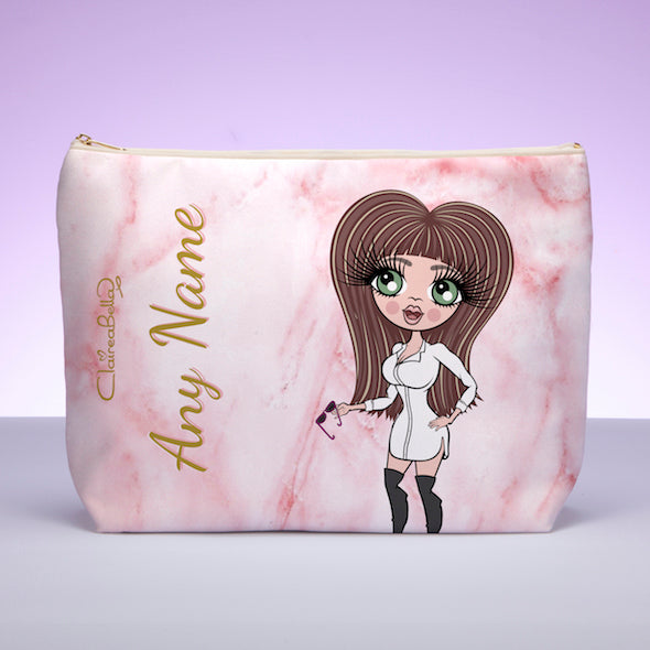 ClaireaBella Marble Effect Wash Bag - Image 1