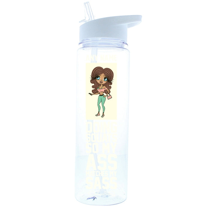 ClaireaBella Sass Squats Water Bottle - Image 3