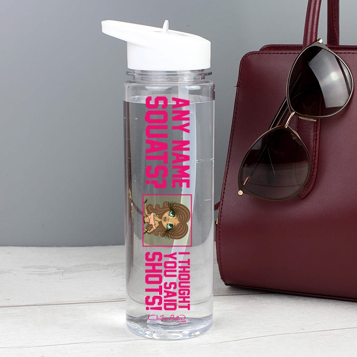 ClaireaBella Squats Water Bottle - Image 2