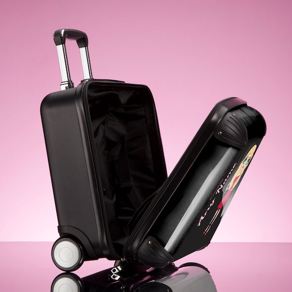 ClaireaBella Black Weekend Suitcase - Image 6