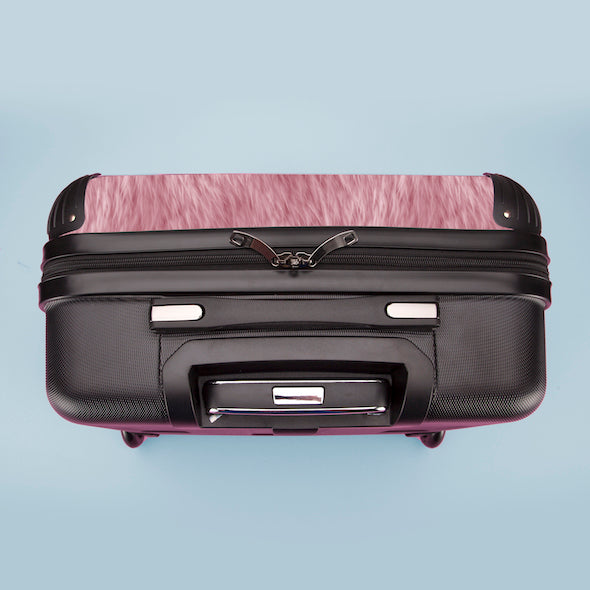 ClaireaBella Girls Fur Effect Weekend Suitcase - Image 8