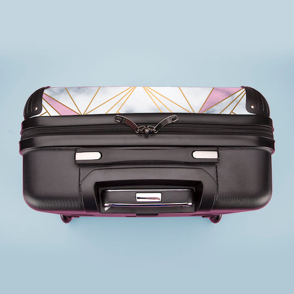 ClaireaBella Geo Print Weekend Suitcase - Image 8