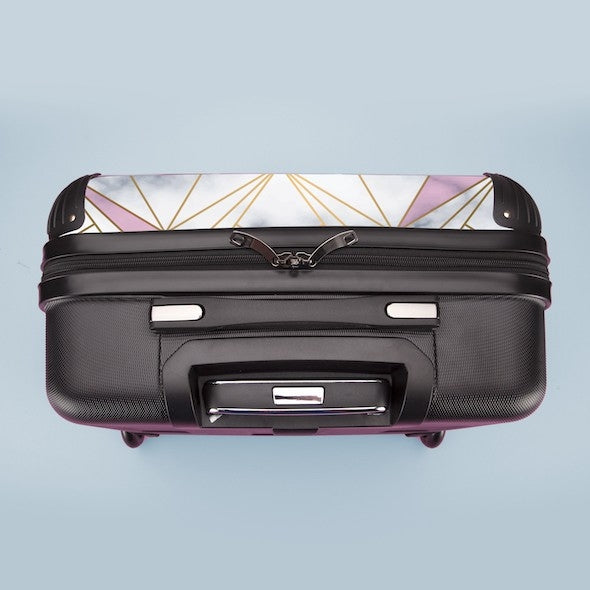 ClaireaBella Girls Geo Print Weekend Suitcase - Image 6