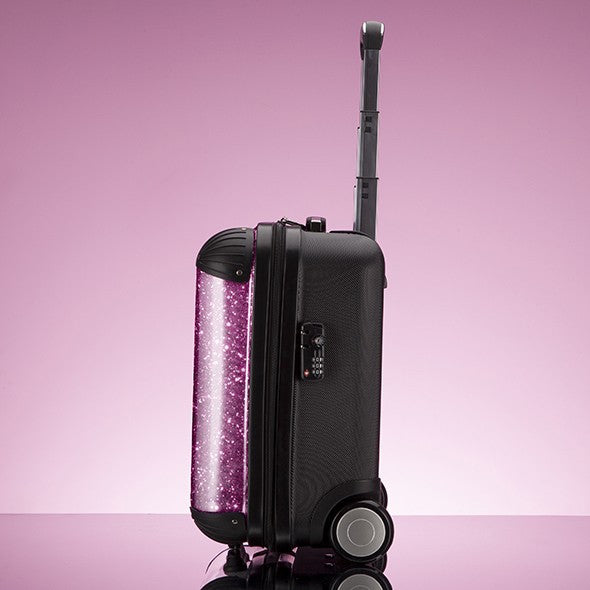 ClaireaBella Girls Glitter Effect Weekend Suitcase - Image 7