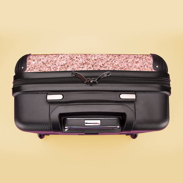 ClaireaBella Girls Glitter Effect Weekend Suitcase - Image 8