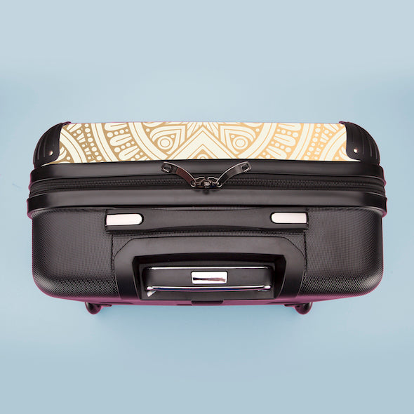 ClaireaBella Golden Lace Weekend Suitcase - Image 8