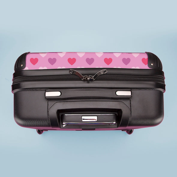 ClaireaBella Girls Hearts Weekend Suitcase - Image 8