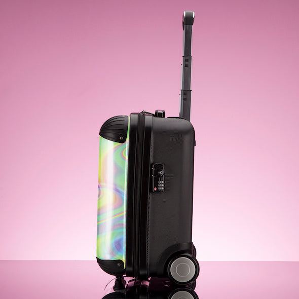 ClaireaBella Girls Hologram Weekend Suitcase - Image 7